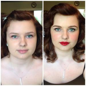 Before/After<br /> <h1>Prom & Special Occasion Makeup